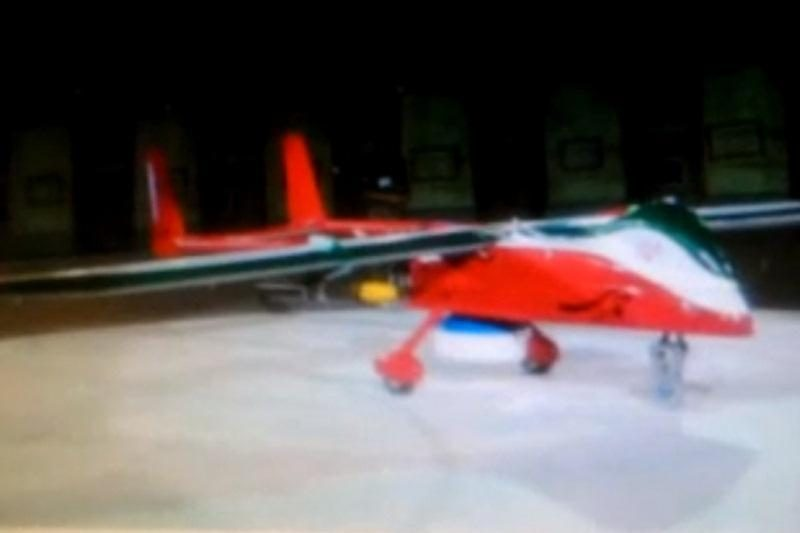 Iranas pristatė naują bepilotį atakos lėktuvą