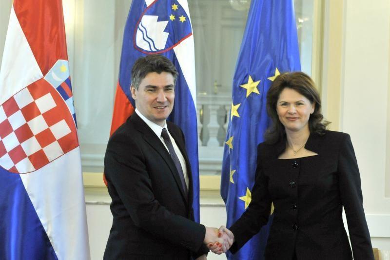 Slovėnija ratifikavo sutartį dėl Kroatijos stojimo į ES