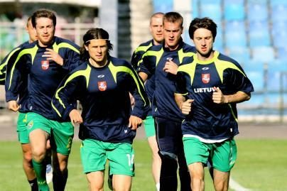 Futbolininkai susitiks su moldavais