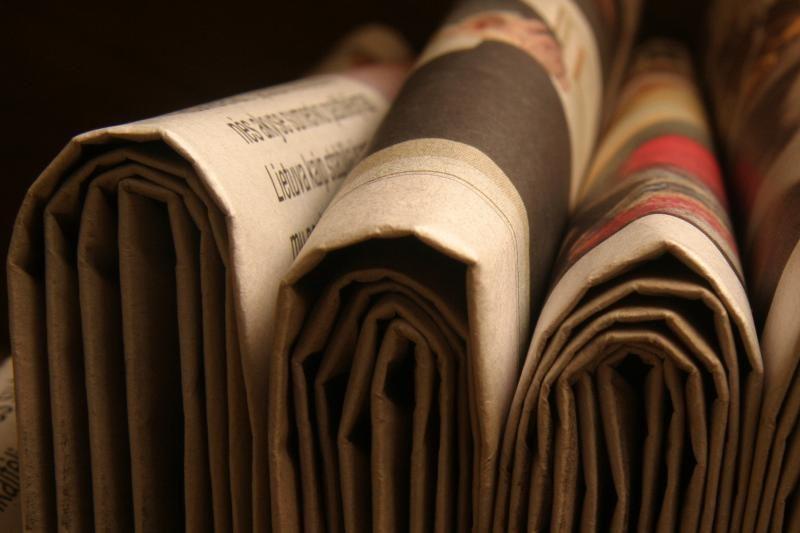 Nuo spalio teismų pranešimai nebebus skelbiami laikraščiuose