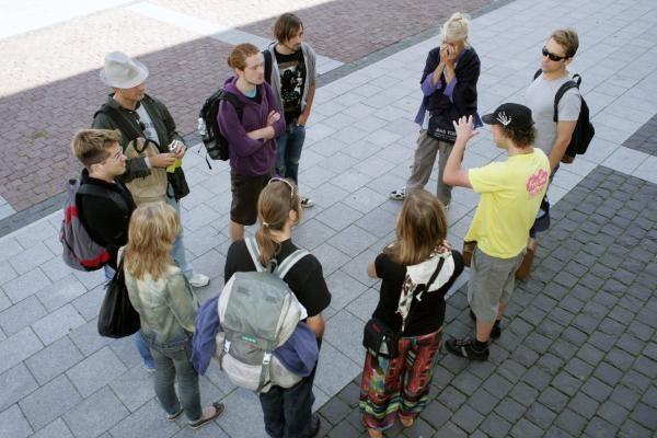 Nemokamose ekskursijose - turistų giduose neaprašytas Vilnius