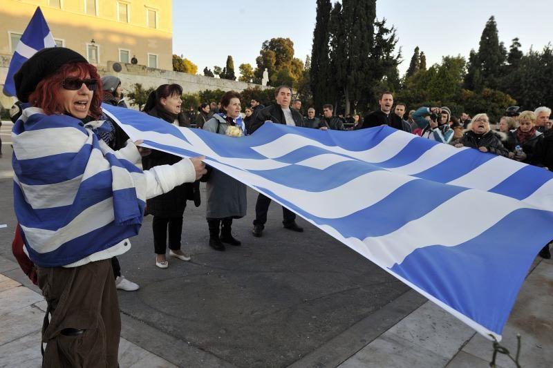 """Graikų socialistas: TVF vadovės komentarai """"žemina"""" Graikiją"""