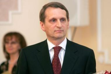 Atsisveikinti su A.M.Brazausku atvyks Rusijos prezidento administracijos vadovas S.Naryškinas