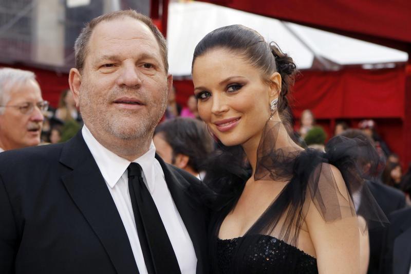 H. Weinsteinas ir G. Chapman susilaukė sūnaus