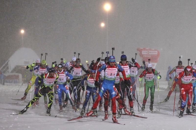 Pasaulio biatlono taurės ketvirtajame etape lietuviai - dvidešimti