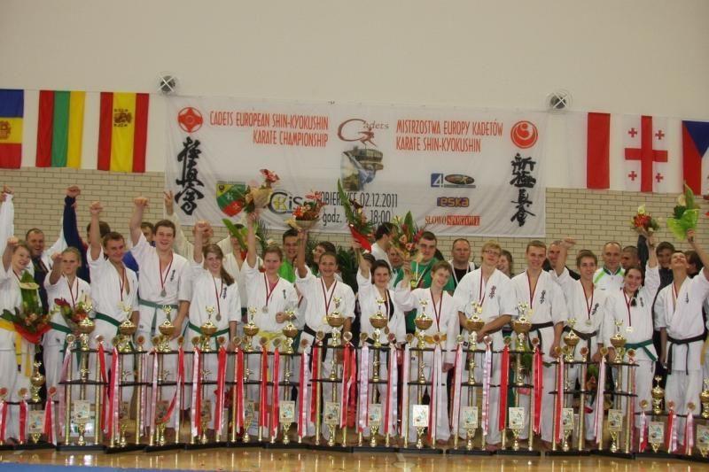 Lietuva - Europos karate kyokushin kadetų čempionė