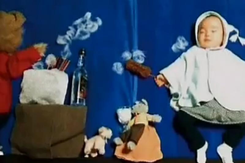 Japonijoje populiarėja miegančių vaikų menas