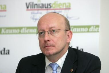 A.Valinskas: koalicijos išlikimas nevertas nė vieno mano nukertamo daikto