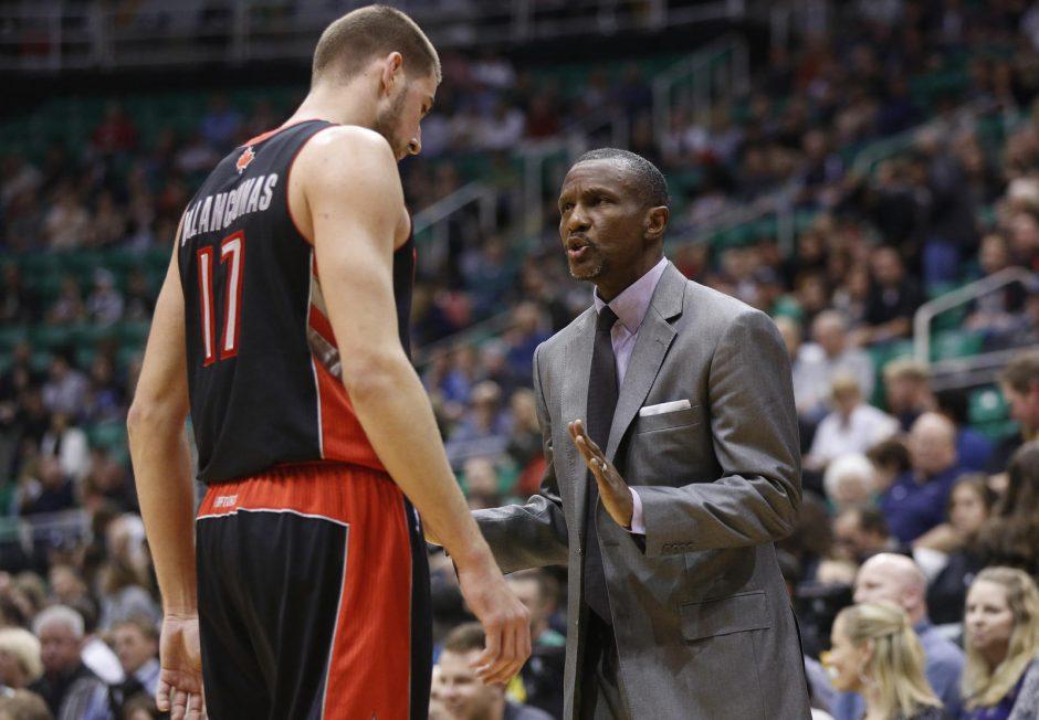 """""""Raptors"""" treneris: pasakiau Jonui, kad jo minutės susitrauks"""