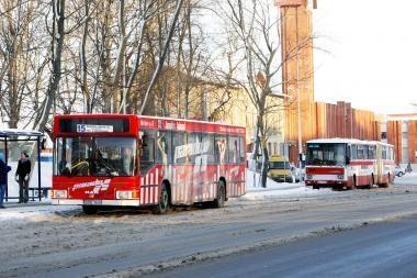 Autobusų maršrutų pokyčiai sukėlė sumaištį