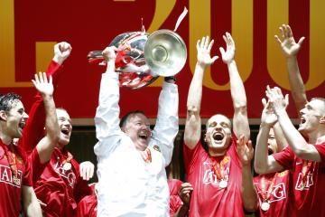 """""""Manchester United"""" triumfavo Maskvoje"""