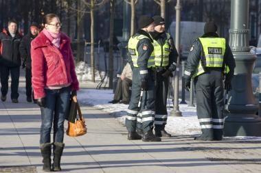 Savaitgalį dirbs sustiprintos policijos pajėgos