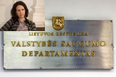VSD: departamento pareigūnai nedalyvavo E.Kusaitės pervežimuose ir apklausose