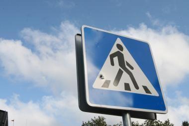 Savaitė keliuose: didelį susirūpinimą kelia pėsčiųjų abejingumas savo saugumui kelyje