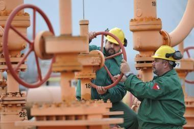 EK ramina - be dujų Europa neliks