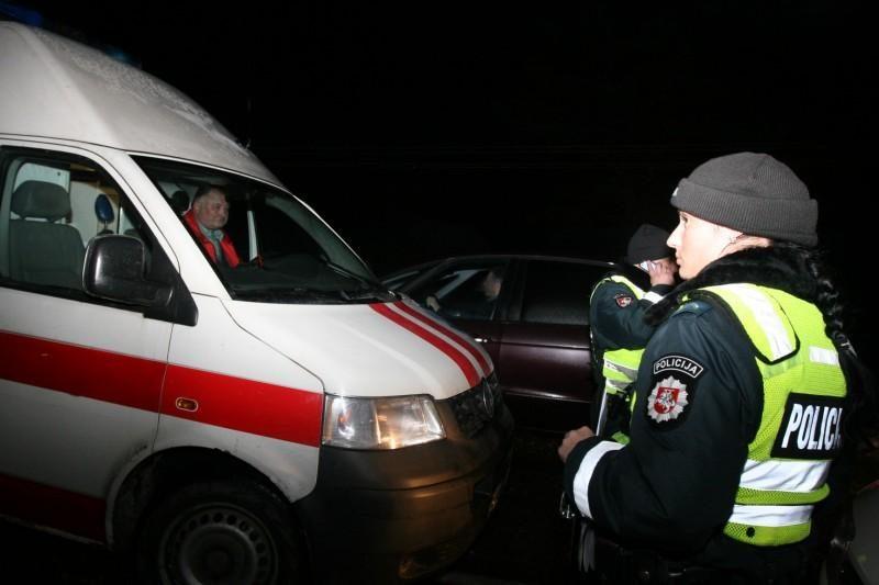 Vilniuje – girto apsaugininko sukelta keturių automobilių avarija