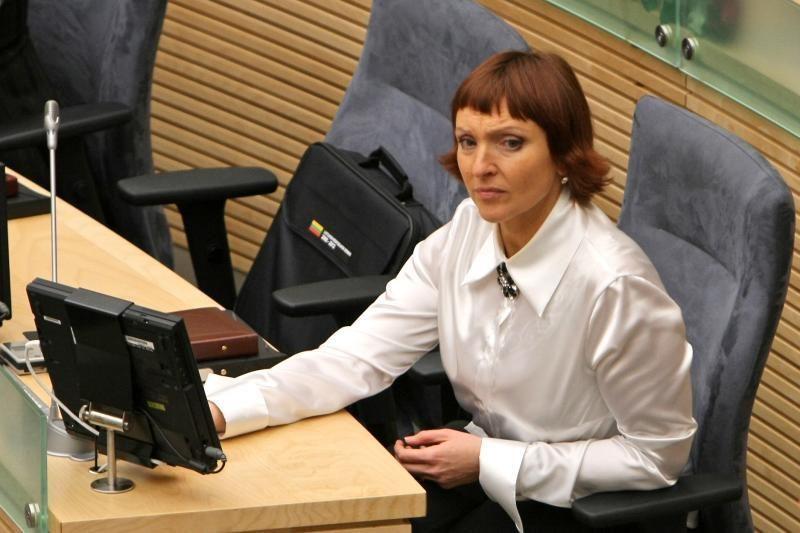 Teismas sudaužė Astos Baukutės viltis kandidatuoti į Seimą