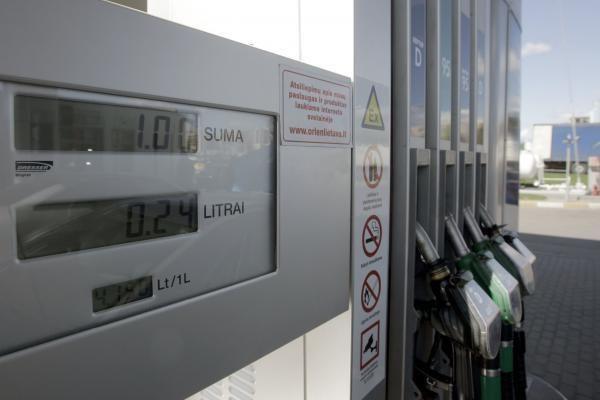 Litras benzino degalinėse kainuoja jau 4,25-4,27 Lt
