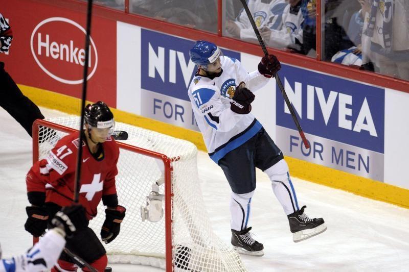 Pasaulio čempionate suomiai nepasigailėjo šveicarų