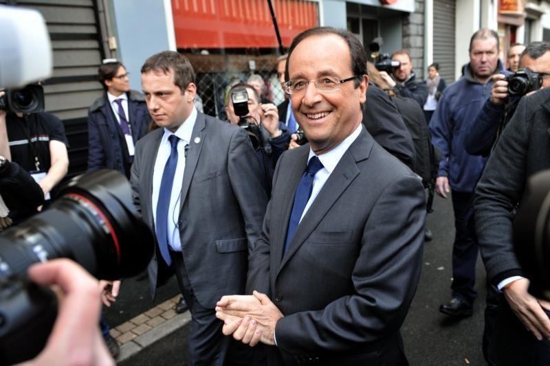 Prancūzijoje renkamas naujasis prezidentas