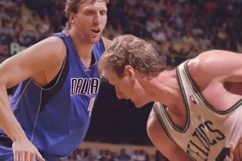 Vaizdo klipe susitiko esama ir buvusios NBA kartos
