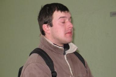 Žurnalistas A.Adamčiukas inscenizavo paties savęs užpuolimą už 1 tūkst. rublių