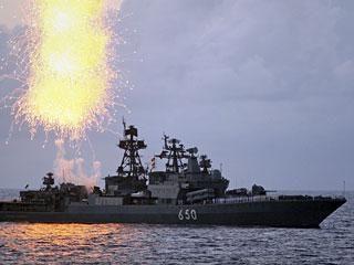 Į Panamos kanalą įplaukė Rusijos laivas