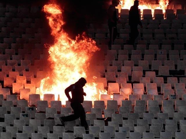 Aršūs Graikijos klubų aistruoliai neleido baigti rungtynių