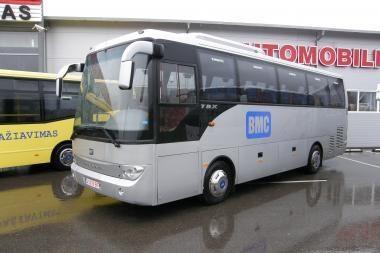 Bilietai kelionėms autobusu - ir internetu