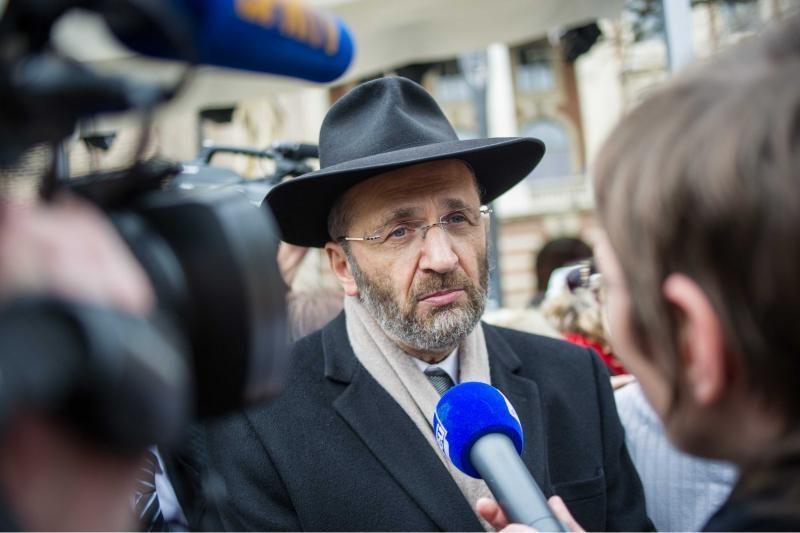 Vyriausiasis Prancūzijos rabinas atsistatydino dėl plagiato skandalo