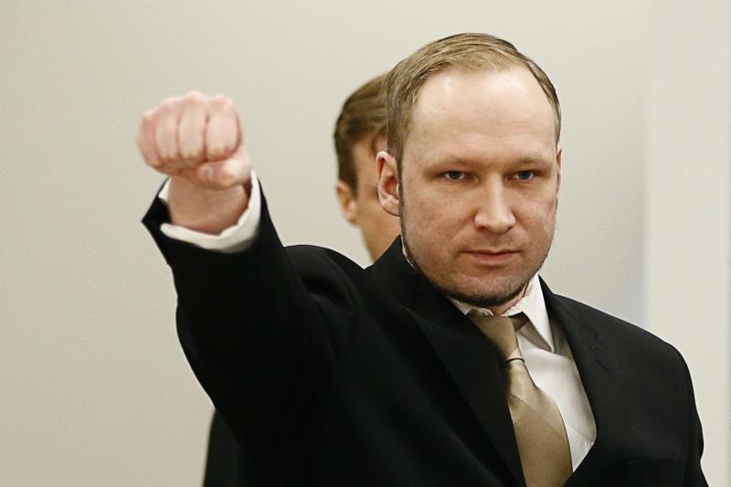 Norvegijoje baigėsi pirmoji A.B.Breiviko teismo diena (papildyta)