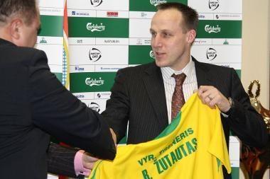 Oficialu: R.Žutautas paskirtas Lietuvos futbolo rinktinės treneriu
