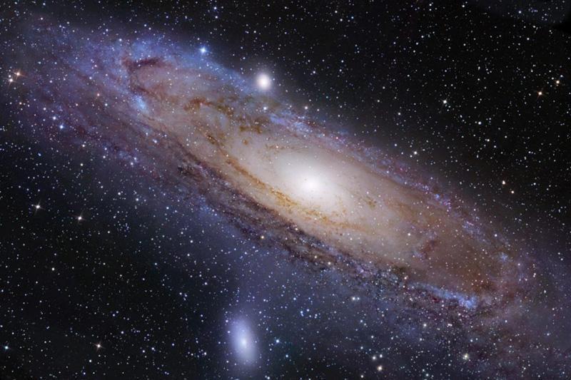 Spiralinės galaktikos atskleidžia gluminantį kosmoso vaizdą