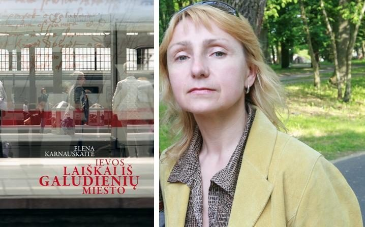 Poetė E.Karnauskaitė Klaipėdoje pristatys savo naują knygą
