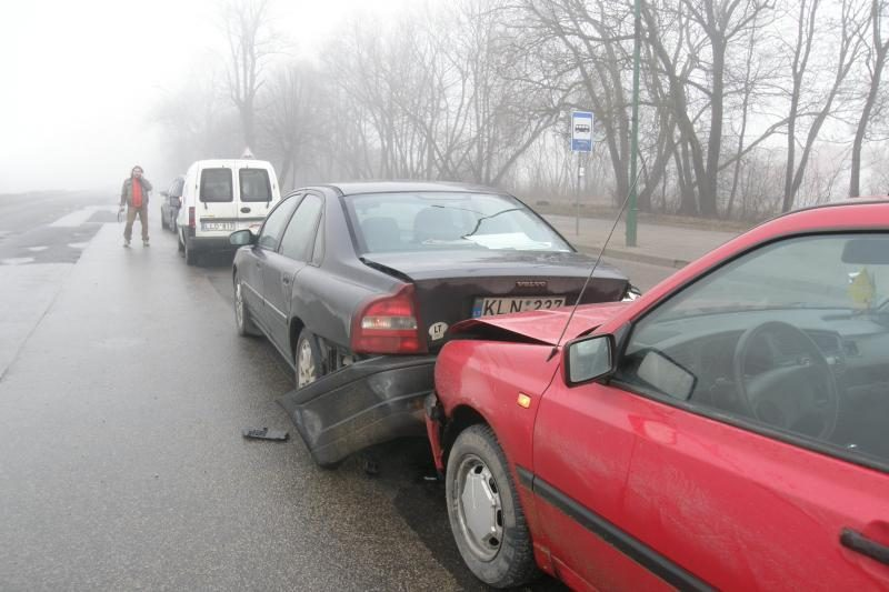 Kokios dažniausios avarijų priežastys?