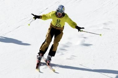 Slidininkas A.Novoselskis žiemos olimpiadoje pirmadienį finišavo 71-as