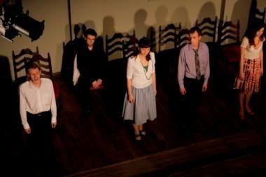 """Jaunųjų aktorių darbas - """"Baltaragio malūnas"""