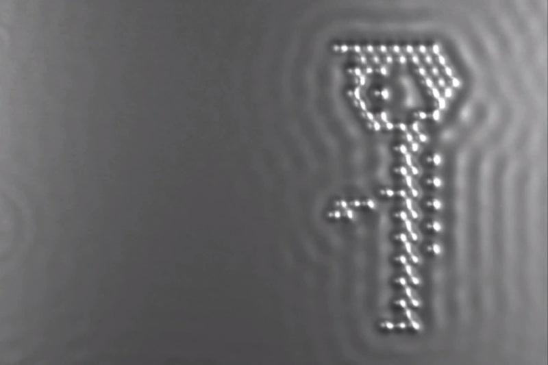 Atominis kinematografas: mažiausias pasaulyje filmas