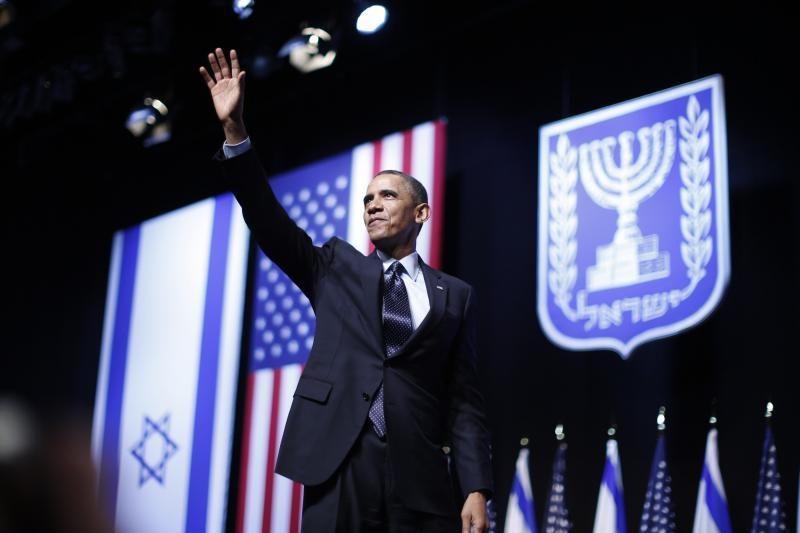 """B.Obama: Izraelis yra """"kryžkelėje"""" ir turi pasirinkti taiką"""