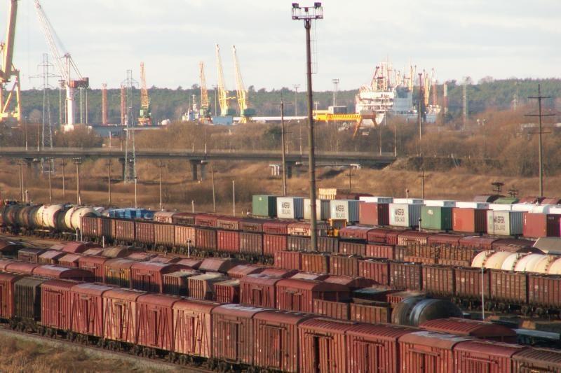 Klaipėdos uosto geležinkelis toliau plėsis