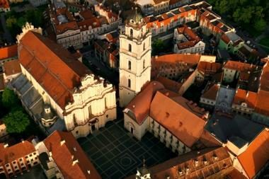 Vilniaus universitete atidarytoje parodoje - itin reti istoriniai leidiniai