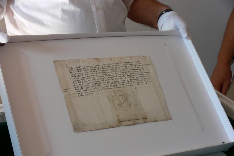 Seniausias miesto antspaudas – jau Klaipėdoje