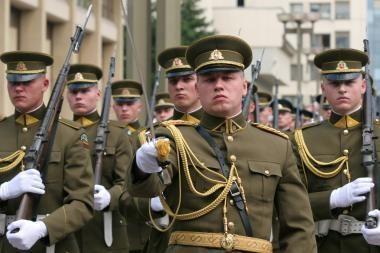 Lietuvos kariuomenei – 90 metų