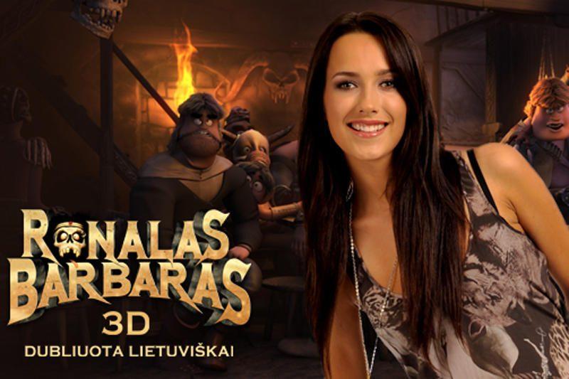 Lietuvos įžymybės įgarsino pirmąjį 3D animacinį filmą suaugusiems