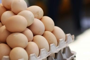 Kiaušinių pernai Lietuvoje parduota ir eksportuota daugiau