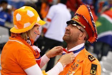 Olandai tikisi finalo su vokiečiais