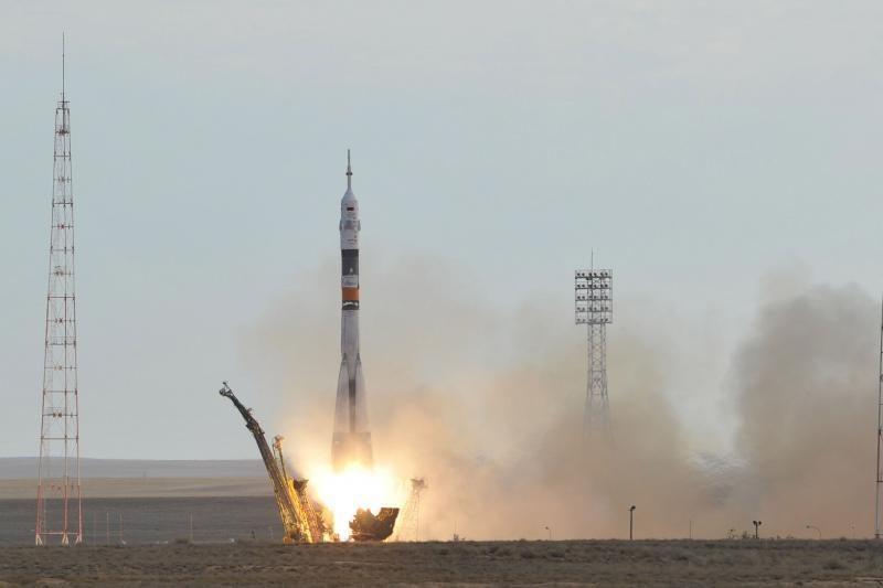 Astronautų komanda rusų raketa išskrido į TKS