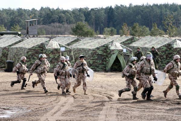 Klaipėdoje – misijai Afganistane besirengiančių karių pratybos