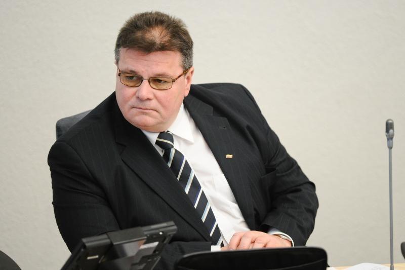 L.Linkevičius dalyvaus ES užsienio reikalų tarybos posėdyje