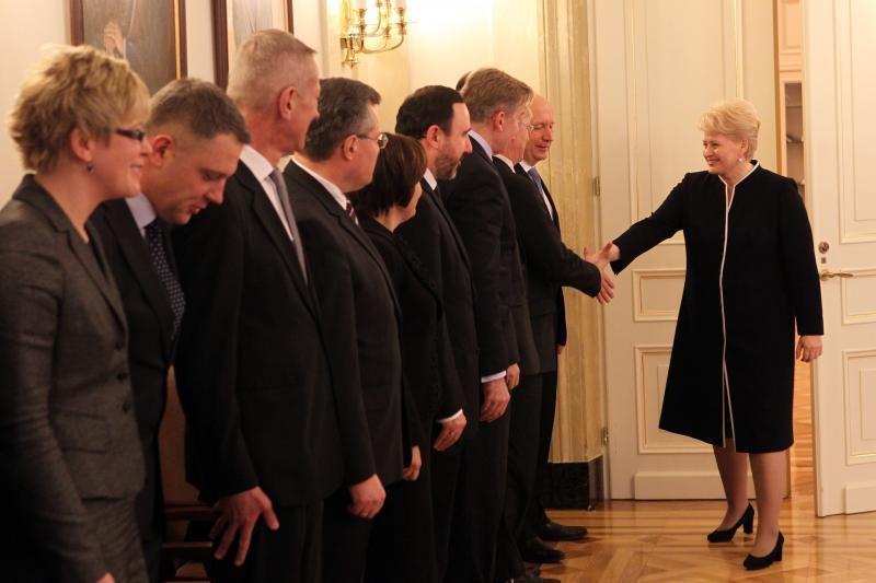 D.Grybauskaitė: Vyriausybė turės vykdyti atsakingą ekonominę politiką
